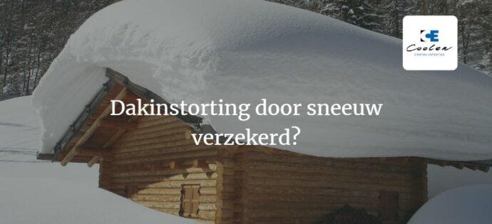 Dakinstorting verzekerd? Sneeuwdruk en Wateraccumulatie
